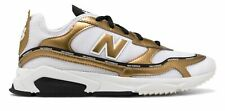 New Balance Women's X-Racer Shoes White with Gold