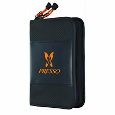 New Daiwa Presso Wallet C Fly Fishing Spoon Lure Case Pouch Holder Size L Black