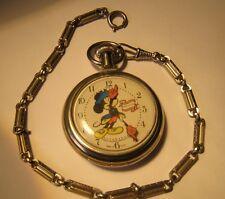 Bradley Mickey Mouse  Bicentennial Pocket Watch 1976 Limited Edition Disney