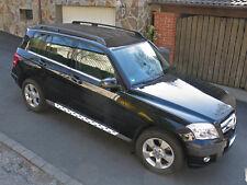 Mercedes Benz GLK X204 Alu Trittbretter Schweller MICRO Stripes ab 2008