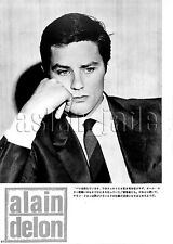 1967, Alain Delon / Charlton Heston Japan Vintage Clippings 1sc3