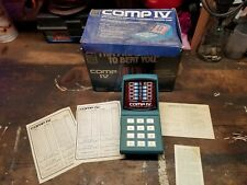 Comp IV Game, Box, and Paperwork Vintage!!!
