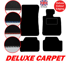 BMW 3 Series E90 E91 2005 to 2012 Tailored Car Mats Deluxe Carpet & Edgings, 4pc