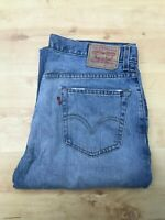 Men's Levi's 559 Relaxed Straight Leg Blue Jeans W36 L32 (#A884)