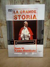 DVD DeAgostini La Grande Storia Paolo VI Il Papa Dimenticato N 17