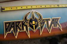 Darkstar Skateboards Helmet Horns Warrior Star Z17 Vintage Skateboarding Sticker