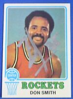 ZAID ABDUL-AZIZ (Don Smith) auto signed autograph  1973-74 Topps Houston Rockets