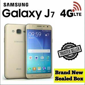 Samsung Galaxy J7 J700F GOLD 16GB DUAL-SIM Unlocked Smartphone 5.5 inch screen