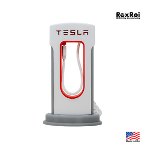 TESLA Supercharger Phone Charger | iPhone Android Accessories | MacBook