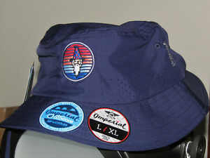 Bettinardi Windy City Wizard Bucket Hat, Imperial, Large / XL, Navy Sold Out!