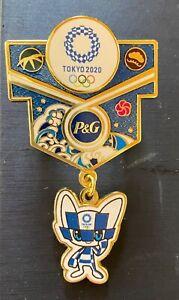 TOKYO 2020 OLYMPIC PINS - P & G SPONSOR PIN _