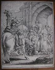 J. F. UNGER ´DIE WEIBER VON WEINSBERG; WEIBERTREU´ HOLZSCHNITT NACH RODE, ~1789