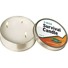 STANSPORT Emergency 3 Wick Survival Candle 36 Hour