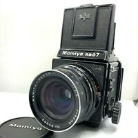 【EXC+5】MAMIYA RB67 Pro S + SEKOR C 65mm F/4.5 + 120 Film Back From JAPAN 367