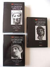 GIORGIO COLLI : LA SAGESSE GRECQUE / TOMES 1, 2 & 3 / L'ÉCLAT / 1990-1992