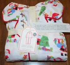 bad47d996b New ListingPottery Barn Kid Jolly Santa Flannel Adult XL Loose Fit Pajama  Holiday Christmas