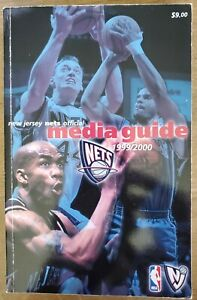 1999-2000 NEW JERSEY NETS MEDIA GUIDE: KEITH VAN HORN, JAYSON WILLIAMS COVER NBA