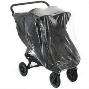 RAIN COVER TO FIT BABY JOGGER CITY MINI GT DOUBLE ZIP ACCESS QUALITY PVC UK MFD
