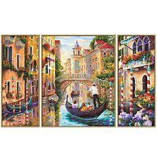 Schipper 609260736 Venedig~Die Stadt in der Lagune Triptychon Malen nach Zahlen