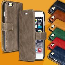 Book Case für Apple iPhone Hülle Handy Tasche Klapphülle Schutz Flip Cover Etui