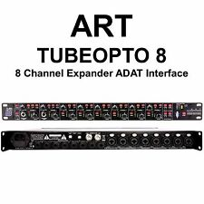 ART TUBEOPTO 8 Channel Digital Preamp Expander ADAT 24Bit Audio I/O Interface