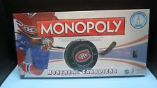 SEALED NHL MONTREAL CANADIENS MONOPOLY 6 COLLECTIBLE TOKENS USAOPOLY