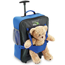 Cabin Max Bear Childrens Luggage Carry on Trolley Suitcase Bright Colours