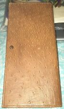 🖋 Vtg NEW YORK LIFE? Insurance Company Folding Leather POLICY HOLDER & Papers
