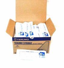 Terumo Syringe Without Needle 30ccml New Lot Of 25 Latex Free Luer Lock Tip