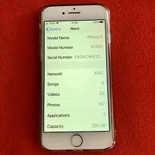 Apple iPhone 8 256GB Factory Unlocked Smartphone Silver White