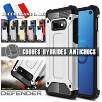 Etui Coque housse Antichoc Shockproof Hybride Case Samsung Galaxy S10, S10e S10+