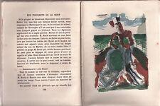 LES FIGURANTS DE LA MORT R.DE LAFFOREST ILLUSTRATIONS J. MOLHER 1945