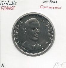 MEDAILLE Commémorative - CHARLES DE GAULLE // Qualité: NEUVE