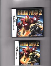 Iron Man 2 Nintendo DS Video Game, Case & Booklet 2009 Used