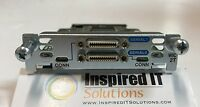WIC-2T  -  Cisco 2 Port Serial WAN Interface Card *SAME DAY SHIPPING*