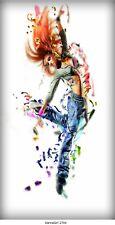 Tanzendes Mädchen,Grafitti,Bild auf Leinwand /*Angebot* DanceGirl 1SH_2703