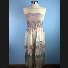 Lapis Womens One Size Dress Tube Beige Shells