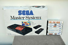 Sega Master System Console Boxed + 7 Games