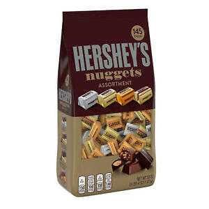 HERSHEY'S Nuggets Assortment Variety Pack (52 oz. 145 pc) NEW