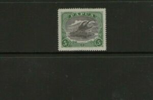 Papua 5/- Stamp