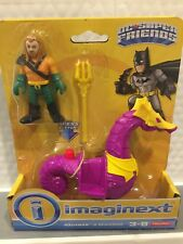 FISHER PRICE IMAGINEXT DC SUPER FRIENDS AQUAMAN WITH SEAHORSE HARD TO FIND
