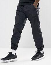 Nike Men's XL Air Woven Black Joggers Pants Trousers 861630-010