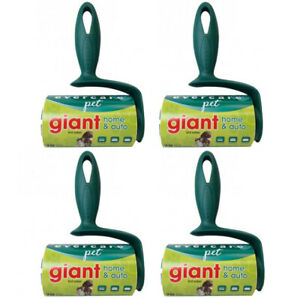 Evercare Giant Pet Extreme Stick Lint Roller, 70 Sheets Each  - 4 Pack -