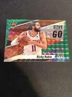 RICKY RUBIO Suns 2019-2020 NBA PRIZM MOSAIC GIVE AND GO Insert GREEN #12