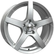 """Alloy Wheels 17"""" Pace For Peugeot 1007 106 2008 205 206 207 3008 4x108 Silver"""
