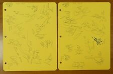 1989-90 LA Kings Hockey Signed Team Sheets 26 Autos Wayne Gretzky Luc Robitaille