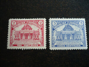 Stamps - Dominican Republic - Scott# 239-240