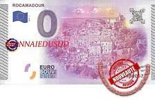Billet Touristique 0 Euro 2015 - Rocamadour