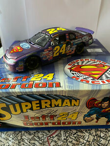 Jeff Gordon #24 Dupont Superman 1999 Monte Carlo diecast 1:24 scale ltd edition