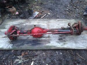 1978 Chevrolet 4x4 Front axle Complete.gm 8.5 ring gear.